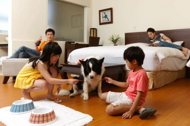 【東森山林渡假100%寵物友善飯店】帶毛孩去旅行